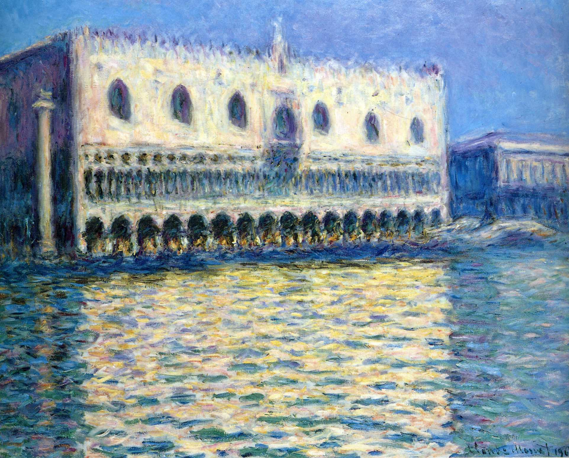 The Palazzo Ducale 1908г